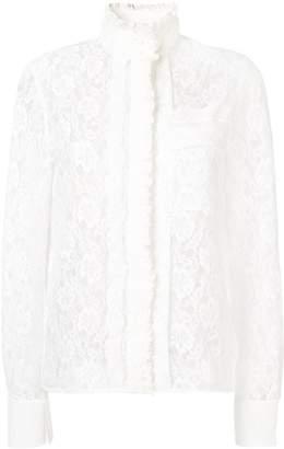 Chloé floral lace blouse