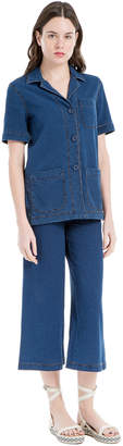 Max Studio indigo trousers