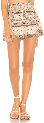 Camilla Side Flounce Shorts