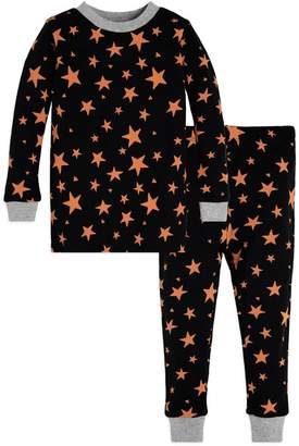 Burt's Bees Shooting Star Bee Baby Organic Halloween Pajamas