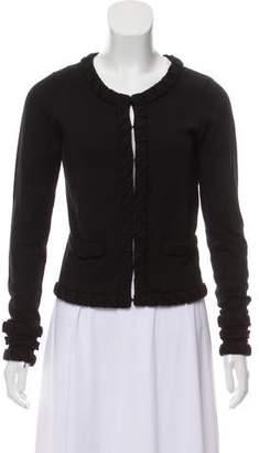 Diane von Furstenberg Wool Long Sleeve Cardigan