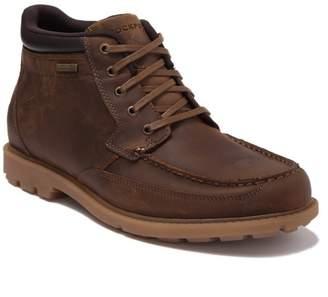 Rockport Patten Waterproof Leather Moc Toe Boot