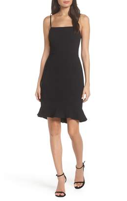 French Connection Whisper Sweetheart Dress