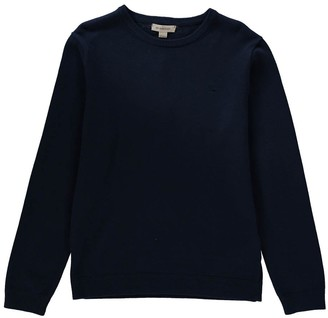 Tartan Elbow Patch Pullover $162.50 thestylecure.com