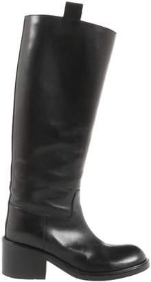 A.F.Vandevorst Black Leather Boots