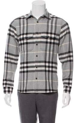 c85f748e8c8de Burberry Men's Longsleeve Shirts - ShopStyle