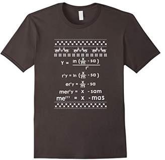 Merry Christmas Math Equation Ugly Christmas Sweater T-Shirt