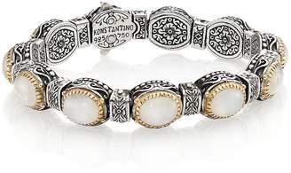 Konstantino Women's Erato Labradorite, 18K Yellow Gold & Sterling Silver Bracelet