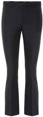 Max Mara S Pevera mid-rise bootcut pants