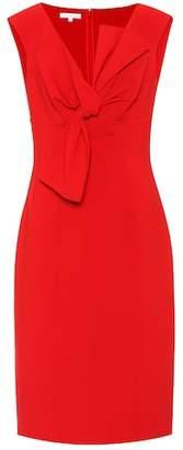 Oscar de la Renta Wool-blend sheath dress