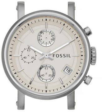 Fossil Boyfriend Chronograph Stainless Steel Watch Case