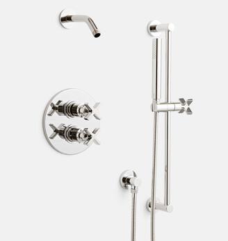 Rejuvenation West Slope Thermostatic Shower Set with Handshower