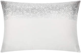 Kylie Minogue At Home at Home - Glitter Fade Pillowcase - Silver - 50x75cm