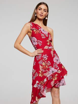 Portmans Australia Summer Statement One Shoulder Dress