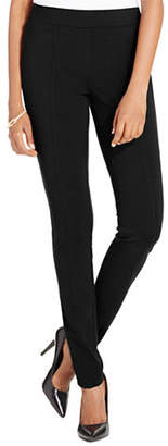 Style&Co. STYLE & CO. Petite Stretch Seam-Front Ponte Leggings