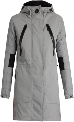 CANADA GOOSE Sabine lightweight hooded coat $468 thestylecure.com