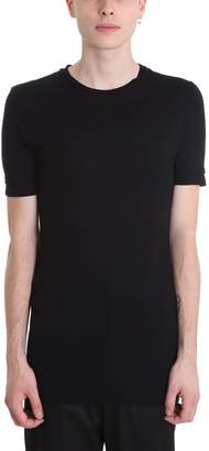 Neil Barrett Traver Black Viscose T-shirt