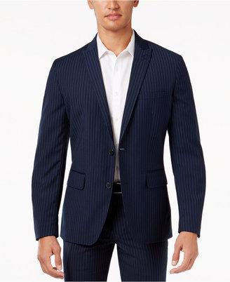 INC International Concepts Men's Stripe Blazer, Only at Macy's $79.98 thestylecure.com