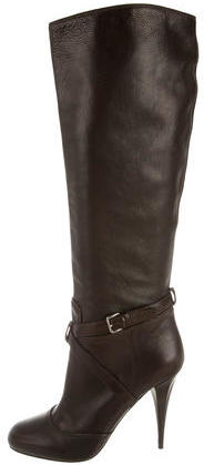 Miu Miu Miu Miu Knee-High Leather Boots