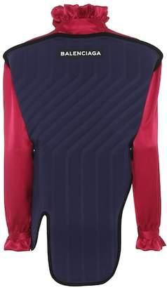 Balenciaga Silk blouse with detachable panel