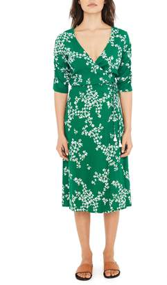 Faithfull The Brand Anne Marie Floral Print Midi Dress