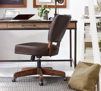 Pottery Barn Elliot Swivel Desk Chair