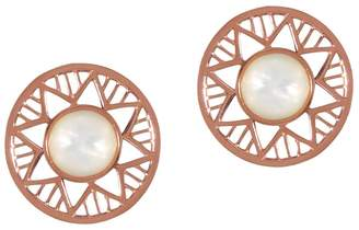 Alexandra Alberta - Chelsea Rose Pearl Earring