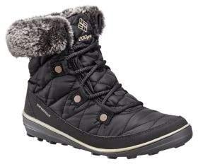 Columbia Heav Faux Fur-Collar Waterproof Boots