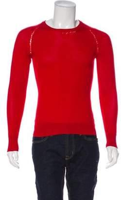 Christian Dior 2007 Distressed Wool Sweater