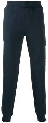 flap pocket track pants