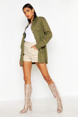 boohoo Canvas Utility jacket
