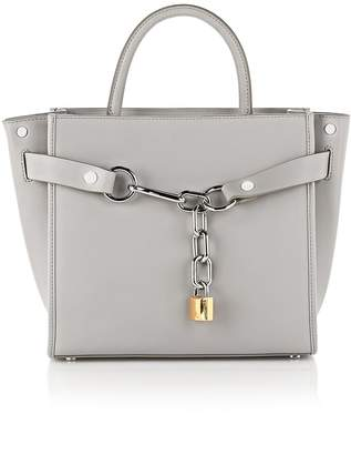 Alexander Wang Exclusive Attica Large Satchel In Heather Gray