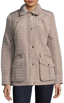 MICHAEL Michael Kors Quilted Button-Front Jacket