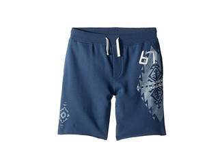 Polo Ralph Lauren French Terry Graphic Shorts (Big Kids)