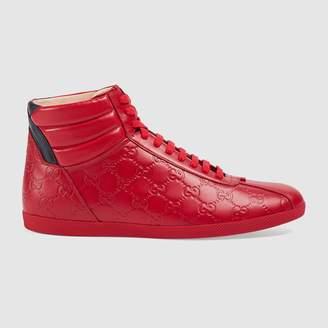 Gucci Signature high-top sneaker