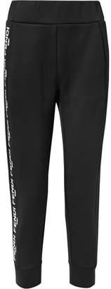 Fendi Roma Printed Scuba Track Pants - Black