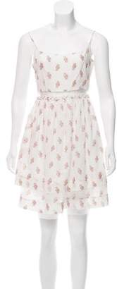 Elizabeth and James Floral A-Line Dress
