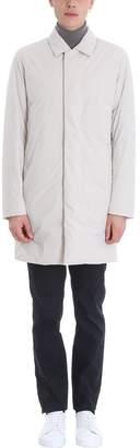 Theory Penn Beige Nylon Coat