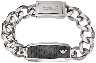 Emporio Armani Stainless Steel Mens Chain Bracelet