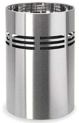 Wastepaper Basket - Stainless Steel