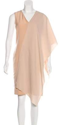 Maison Margiela Asymmetrical Knee-Length Dress