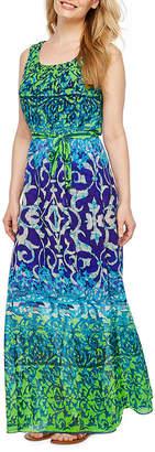 Rabbit Rabbit Rabbit DESIGN Design Sleeveless Bordered Maxi Dress