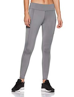 Oasis Sunday Women's Tights Highwaist Sports Yoga Workout Gym Running Trouser with Side Mobile Pockets