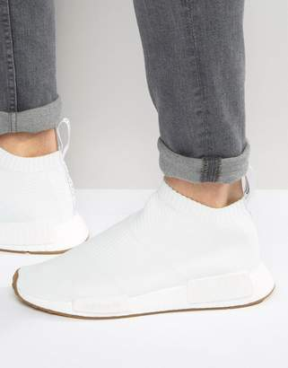 adidas Originals NMD_CS1 PK Sneakers In White BA7208 $190 thestylecure.com