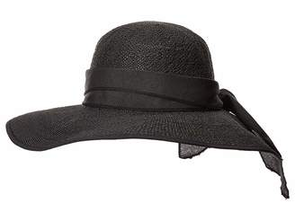 San Diego Hat Company PBL3093OS Woven Paper Face Saver w/ Scarf Tie