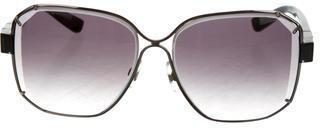 Swarovski Billie Gradient Sunglasses $145 thestylecure.com