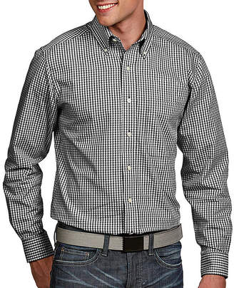 Antigua Men's Associate Woven Button Down Shirt