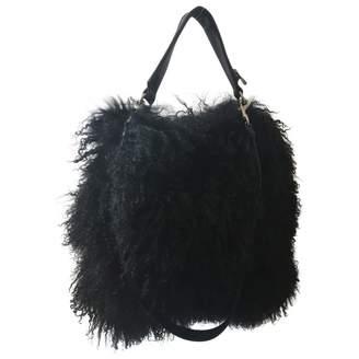 Givenchy Black Mongolian Lamb Handbags