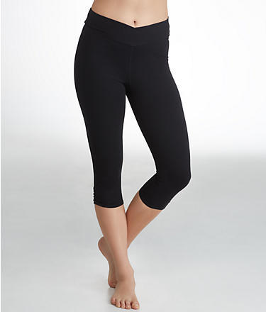 Yummie by Heather Thomson Candace Cotton Wow Slimming Capri Leggings