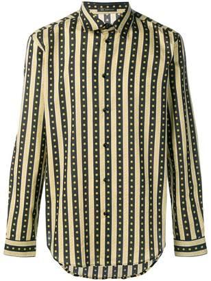 Versace Greca Key print shirt